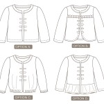 Carnival Jacket by Peach Patterns 4 options