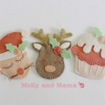 Festive Felties by Molly and Mama