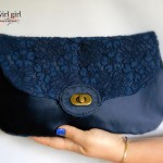 The Statement Clutch sewn by Twirl Girl Boutique