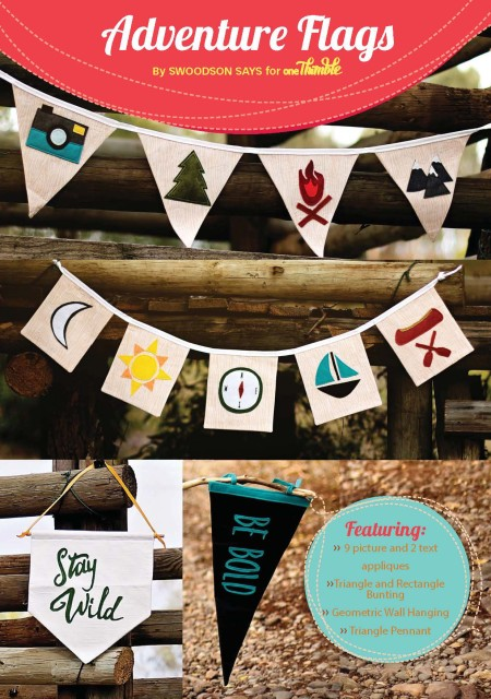 Adventure Flags Stand Alone Cover