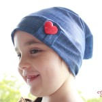 Enid Slouch Beanie - sewn by Rosie Red