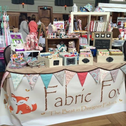 Fabric Fox Stall Setup