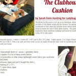 Fabric Requirements Clubhouse Cushion