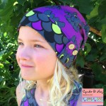 Enid Slouch Beanie - sewn by Cynder and Ninj