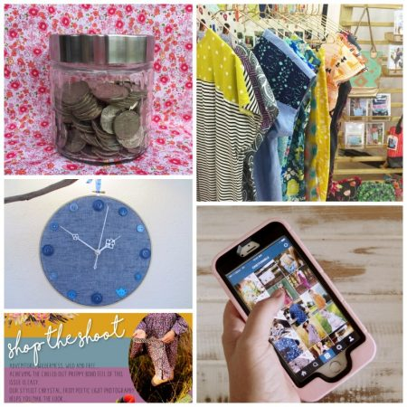 Handmade Business Article Collage