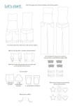 Line Drawing Playproof Dungaree Options