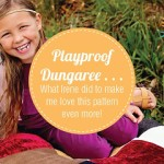 Skirted Playproof Dungaree Post