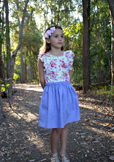 Willow Dress Sewn by Miss Edee