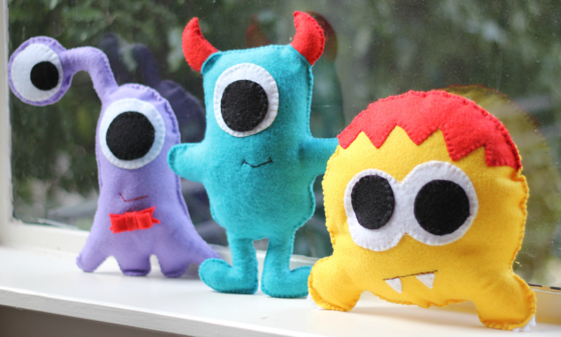 Emkie Designs Monsters