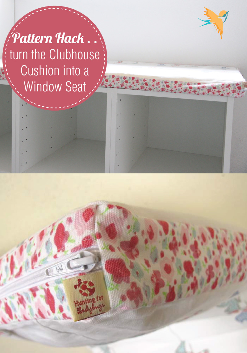 Turn the Clubhouse Cushion into a window seat