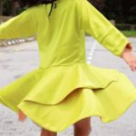 Crossover Flounce Dress Tester Heidi Emak