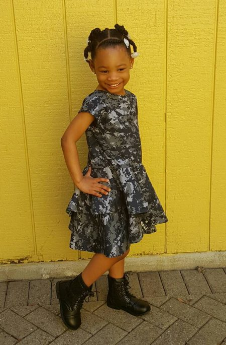 Crossover Flounce Dress Tester Navy Wifey Peters