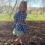 Crossover Flounce Dress Tester Sarah Nation Stallons