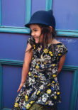 Crossover Flounce Dress - cap sleeve option - One Thimble Issue 11
