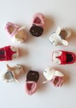 Wild Things Baby Shoes - Group - Sewn by Robyn