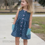 Hoya Dress sewn by Stitched by Crystal