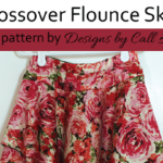 Pattern Hack the Crossover Flounce Dress to a skirt