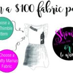 Crafty Mamas Fabrics and One Thimble – Design an outfit competition