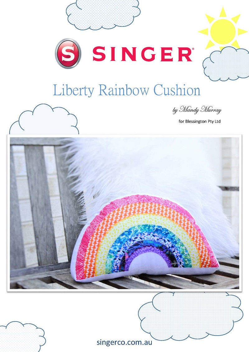 Singer Liberty Rainbow Cushion