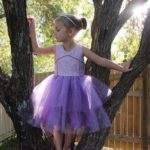 Princess Azure Party Dress sewn by Sutures & Stitches
