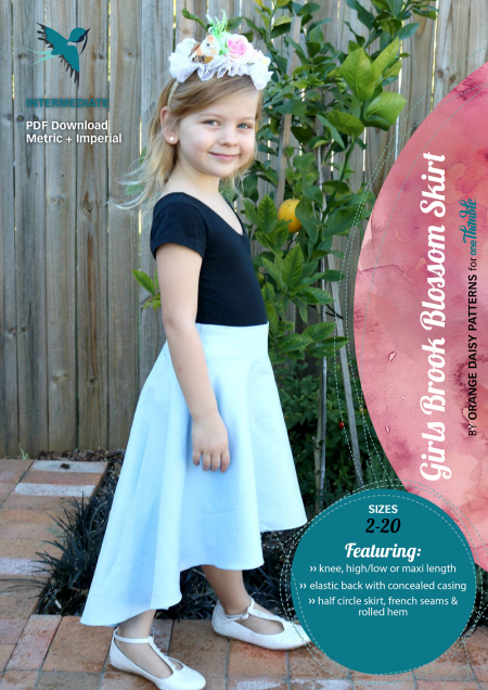 Brook Blossom Girl Skirt Stand Alone Cover