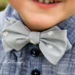 Oswald Diamond Bow Tie