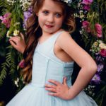 Azure Party Dress // Ainslee Fox Boutique Patterns // One Thimble Issue 12