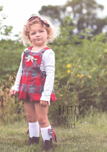 Melbourne Romper sewn by Better Dressed Child front view