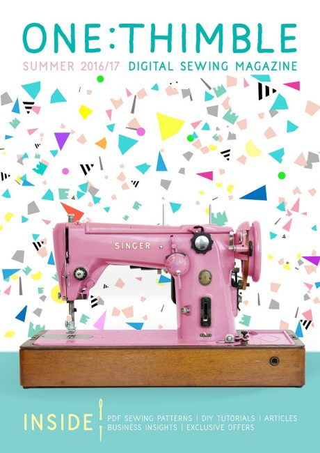 One Thimble Digital Sewing Magazine Issue 13 cover