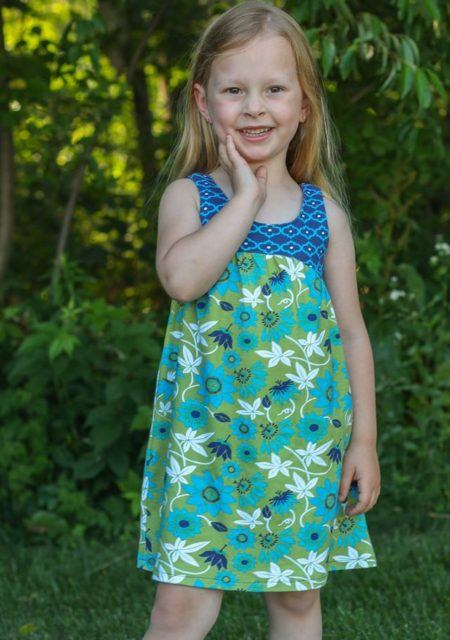 #111 Thread faction floral dress front