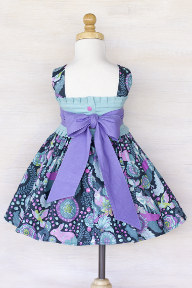Clean Edit example - back of Firefly Dress