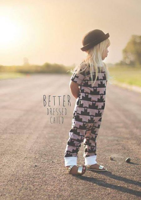 One Romper sewn by Better Dressed child