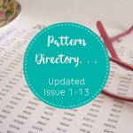 Pattern Directory One Thimble Issue 1-13