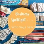 Business spotlight – Who Says Sew