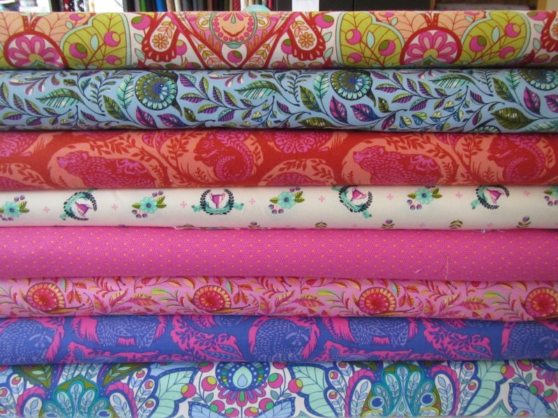 Bright Fabrics Stocked by Love Lee Fabrics