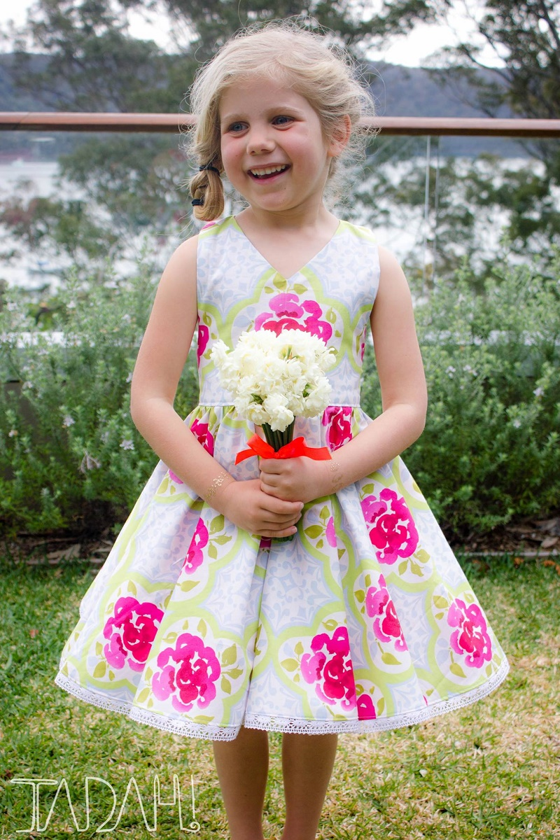 Tea Party Dress by Tadah Patterns