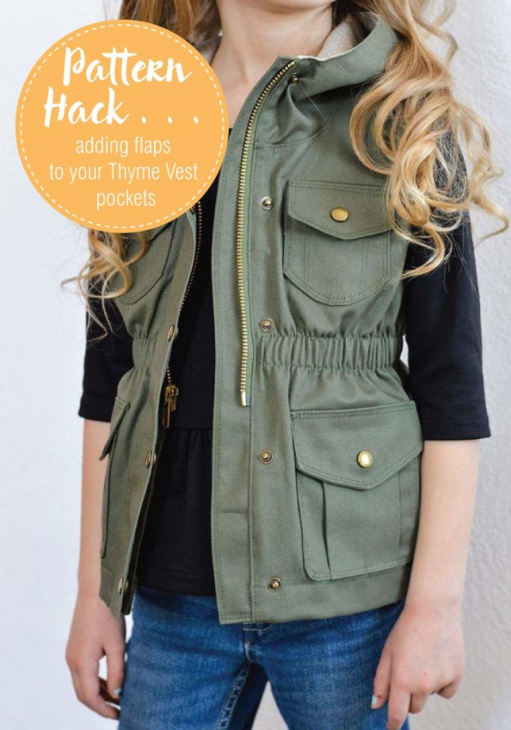 Adding Pockets to your Thyme Vest