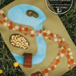 Enchanted woodland meadow playscape pattern cover