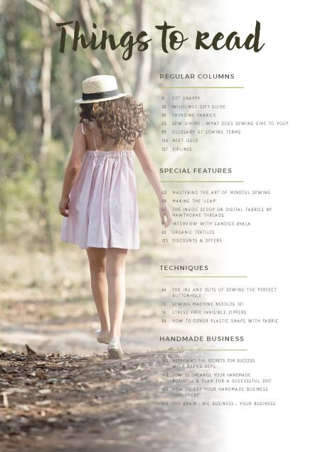 Articles included in One Thimble Issue 14