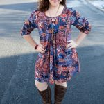 Amuse boho dress with boots
