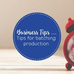 Tips for saving time when sewing for business