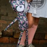 Hipster Teddy Bear PDF Sewing Pattern Cover