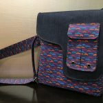 Military Messenger Bag sewn by Rochna Jalan