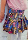 Miriam Skirt sewn by Belles and Bows