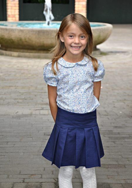 Miriam Skirt sewn by Libby and Mae