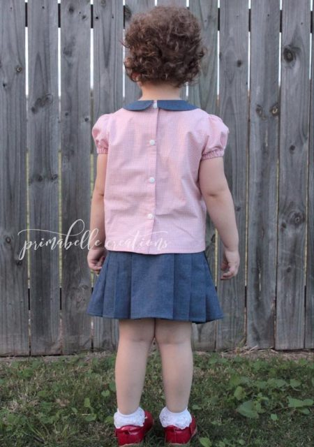 Phillipa Blouse sewn by Primabelle