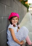 #115 Pom Pom Beret photographed by Poetic Light Photography