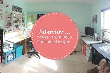 Melissa Bella Sunshine Designs Workspace