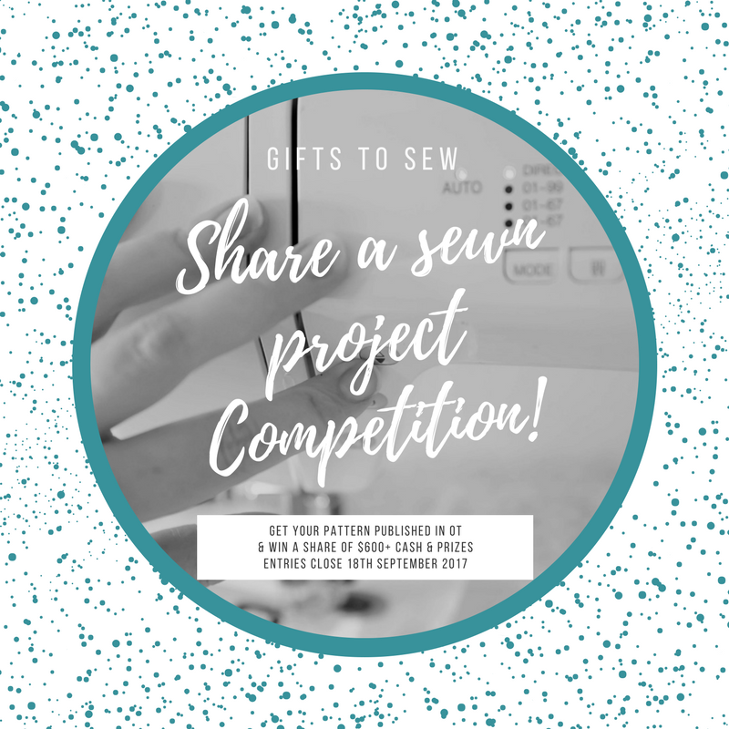 Share a sewn project competition shareable