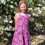 Hally Dress sewn by Donna